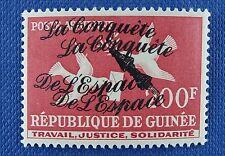 Space Raumfahrt 1962 Guinea Vögel Doppelter Aufdruck Double Overprint 148/1105