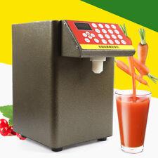 8l 400w Automatic Fructose Quantitative Milk Bubble Tea Syrup Dispenser Machine