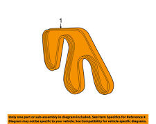 TOYOTA OEM 00-06 Tundra-Serpentine Drive Fan Belt 90916A2004