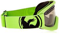 Dragon Alliance DXS Ski snowboard Goggles Dragon Kids Neon Green/Smoke NEW