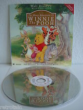 The Many Adventures of WINNIE the POOH | Laserdisc English | LD & Cover: Mint