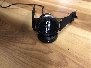 Samsung Galaxy Watch 46mm (Bluetooth) SM-R800 Silver with Black Band
