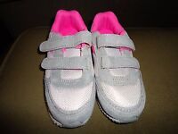 Circo Infant Baby Toddler Girl  No Lace Strap Athletic Shoes Sneakers Pink Gray