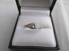 Late Art Deco Diamond Ring 18ct Gold and Platinum Taylor Australian ?