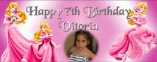 Festa Di Compleanno Decorazioni Banner DISNEY PRINCIPESSA AURORA BELLA ADDORMENTATA