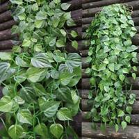 Artificial Hanging Plant-Fake Vine Ivy Leaf Greenery Garland Wedding Party Decor