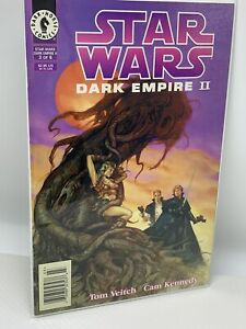 Star Wars Dark Empire II #3 NEWSSTAND Comic Luke cover