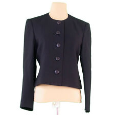Dunhill Coats Jackets Black Woman Authentic Used T2491
