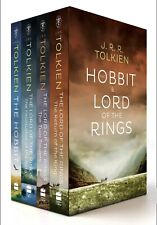 The Lord of the Rings & the Hobbit: 4 Book Box Set New - Paperback