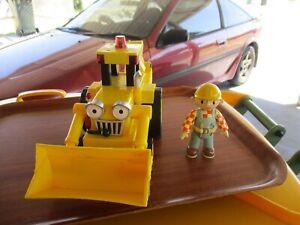 Bob the Builder Figure & large SCOOP plastic toy bulk lot