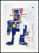 Jean Michel Basquiat Irony Monténégro Policeman Poster Art pression dans le cadre 70x50cm