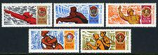 Russia 3501-3505, MNH. Lenin Young Communist League - Komsomol, 50th anniv. 1968