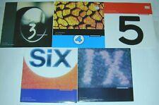 "THE WEDDING PRESENT 5x Import 7"" Singles '92 Hit Parade Series #3,4,5,6,9 NM 45s"