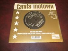 ISLEY BROTHERS RARE MOTOWN/TAMLA AUDIOPHILE 45 SINGLE HEART OF MINE & PAINTED