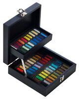 Sennelier Soft Pastels - Professional Artists Pastels - 60 Black Wooden Box