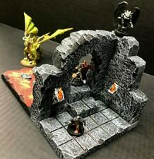 Dungeon Lava Entrance Set Dungeons and Dragons Pathfinder d&d Terrain Scenery