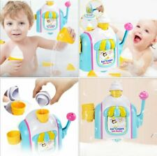 Bubble Machine Toy Ice Cream Shape Baby Bathing Toy Baby Bath Kids Children
