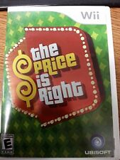 THE PRICE IS RIGHT  --  Nintendo Wii Game