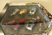 Maisto 4x4 Rebels Off-Road Collection Diecast 5 Pack Truck Set & Accessories New