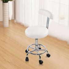 White Salon Chair Barber Hydraulic Stool Styling Massage Beauty Seat
