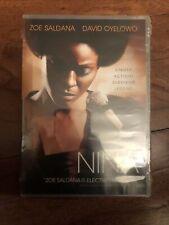 Nina (DVD, 2016) Zoe Saldana Simone biography movie film soul music NEW Sealed.