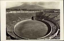 Neapel Pompeji Italien s/w ~1920/30 Blick in das Amphi Theater Vesuv Vulkan