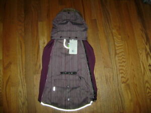 NWT TOP PAW LED REFLECTIVE HOODED WINTER COAT JACKET OUTERWEAR PURPLE Size XL