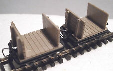 Roco 34604 - Narrow Gauge H0e/009 Mine Planked End Wagon Set (2 Wagons) T48 Post