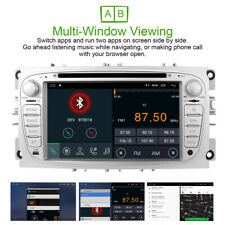 "Silver 7""Car DVD GPS Navigation System Auto radio DAB+ DVD for FORD MONDEO FOCUS"
