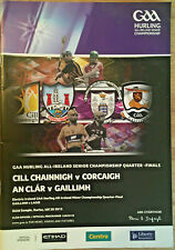 2013 GAA KILKENNY v CORK & CLARE v GALWAY All-Ire Hurling Q-Final Programme