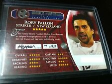 RARE FUTERA SERIES 2 RORY FALLON AUTO AUTOGRAPH 7/20 CODE UNUSED NEW ZEALAND