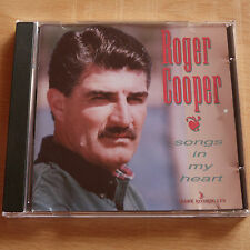 Roger Cooper - Songs In My Heart (11-track Country CD 1995, EX Disc, New Case)