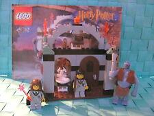 LEGO Harry Potter Set 4712 Der Troll ist los inkl. 3 Figuren u. BA  RAR u. TOP