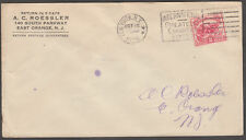 #629 NY CANCEL FDC BY ROESSLER BL6482