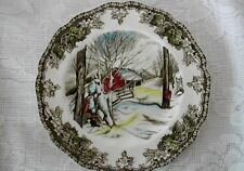 Collectible JOHNSON BROTHERS Friendly Village Scenic Plate - Made in England