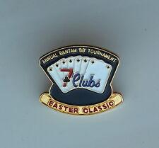 Annual Bantam BB Tournament 7 Clubs Easter Classic Lapel Hat Pin