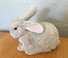 Bisque Porcelain Easter Bunny Rabbit Dept.56 Holiday Decor Nice Vintage Figurine