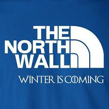 THE NORTH WALL WINTER IS COMING funny brace yourself game of thrones T-Shirt