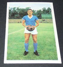 H.-J. BECHER SCHALKE 04 FUSSBALL 1966 1967 FOOTBALL CARD BUNDESLIGA PANINI