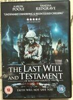 Last Volontà e Testament DVD 2012 Horror Thriller con Vanessa Redgrave