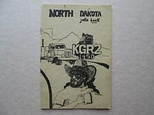 NORTH DAKOTA Joke Book 1980 1st Edition 1450 KGRZ Rare Collectible
