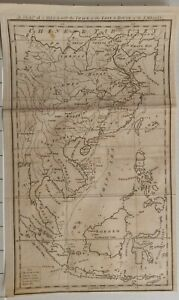 1797 MAP OF CHINA WITH TRACK OF THE LION & ROUTE OF THE EMBASSY JOHN STOCKWELL