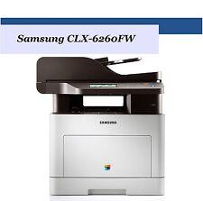 Samsung CLX-6260FW Multifunktion-Farblaserdrucker Scanner Kopierer Fax Wlan Dupl