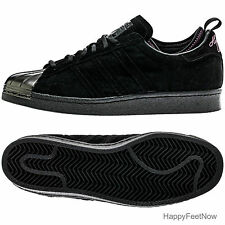 ADIDAS ORIGINALS EDDIE HUANG SUPERSTAR 80's MEN'S SHOES SIZE US 10 BLACK F37748