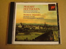 CD SONY CLASSICAL / MOZART & BEETHOVEN - QUINTETS FOR PIANO / MURRAY PERAHIA