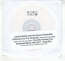 (HL377) Laetitia Sadier & The Source Ensemble, Undying Love For Humanity - DJ CD