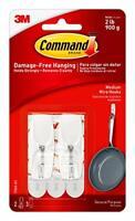 Command Medium Wire Toggle Hook