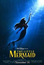 The Little Mermaid Movie POSTER, 27 x 40, Jodi Benson, A, LICENSED NEW