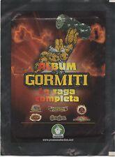 FIGURINE STICKERS GORMITI LA SAGA COMPLETA • 8 BUSTINE PREZIOSI COLLECTION