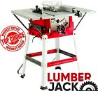 """Lumberjack 8"""" Bench Table Saw with Stand Side Extensions Fence & TCT Blade 240V"""